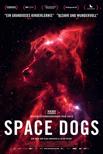 Plakat des Dokumentarfilms Space Dogs
